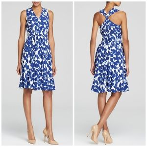 NWT Kate Spade | Blue & White Twist Garden Dress 6